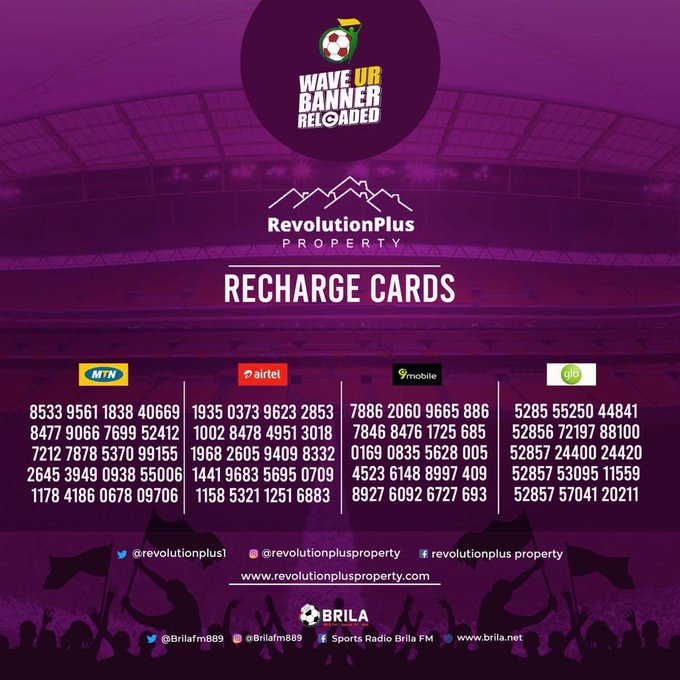 Got Fast Fingers? Win big at RevolutionPlus 'Wave ur Banner Reloaded'