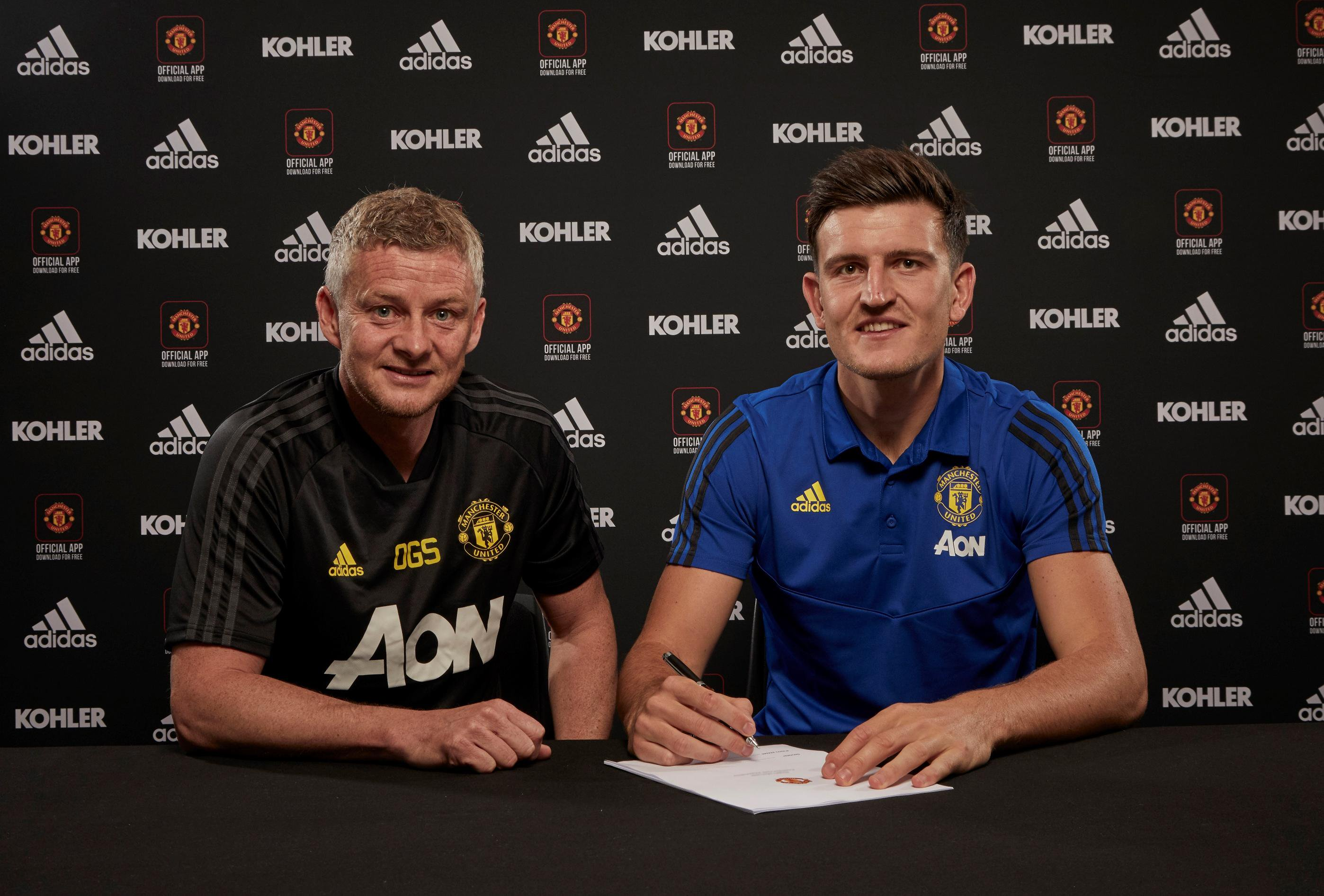 Man United complete signing of £80m Leicester defender Harry Maguire