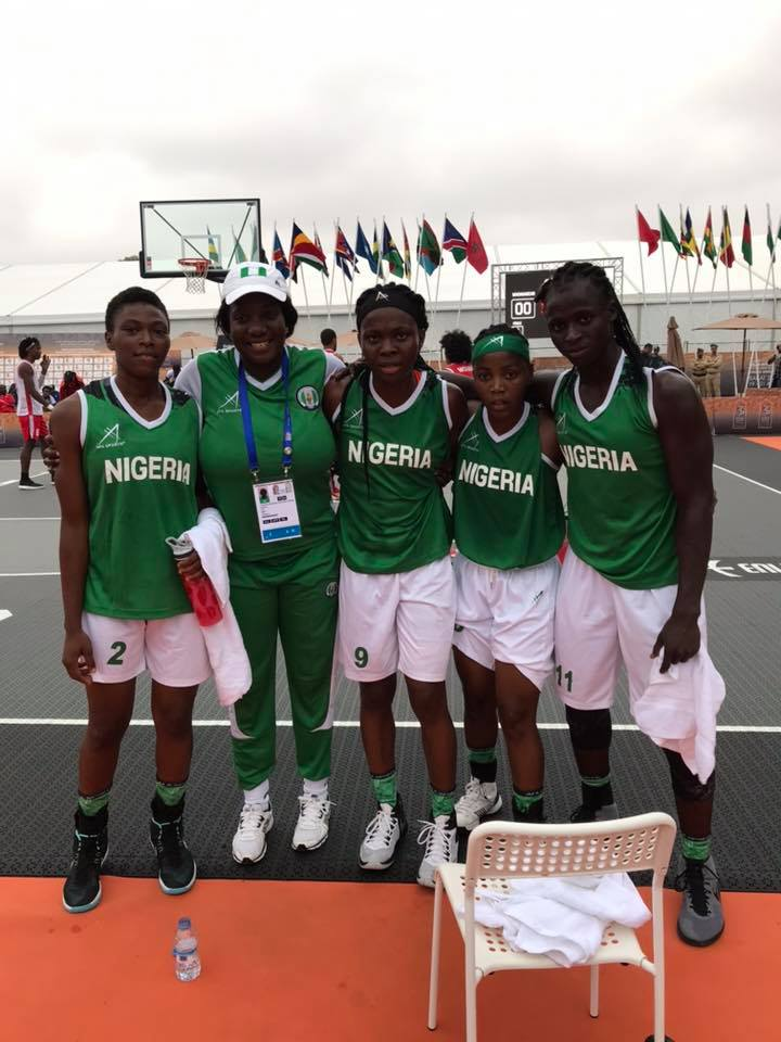 12th African Games: Team Nigeria Wins Gold Medal In Women 3×3 Basketball