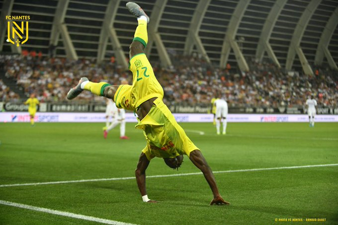 Moses Simon nets winner for Nantes in Ligue one debut