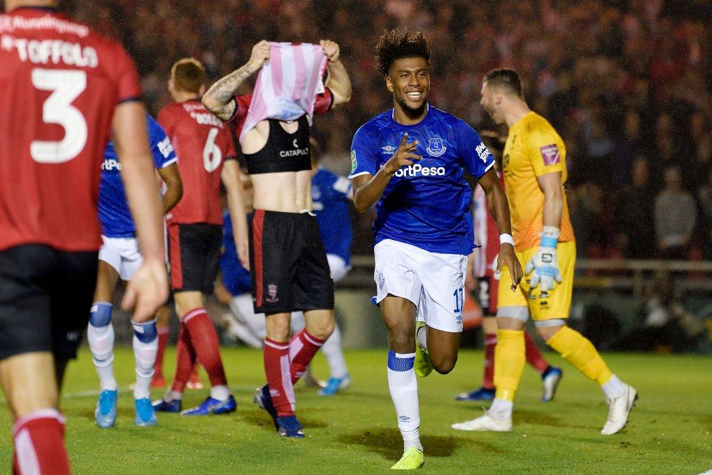 Iwobi Scores Maiden Goal For Everton