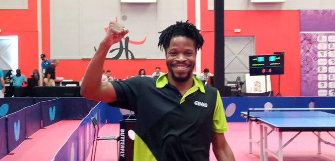 12th African Games: Olajide Omotayo Fights Off Aruna Quadri To Win Tennis Gold