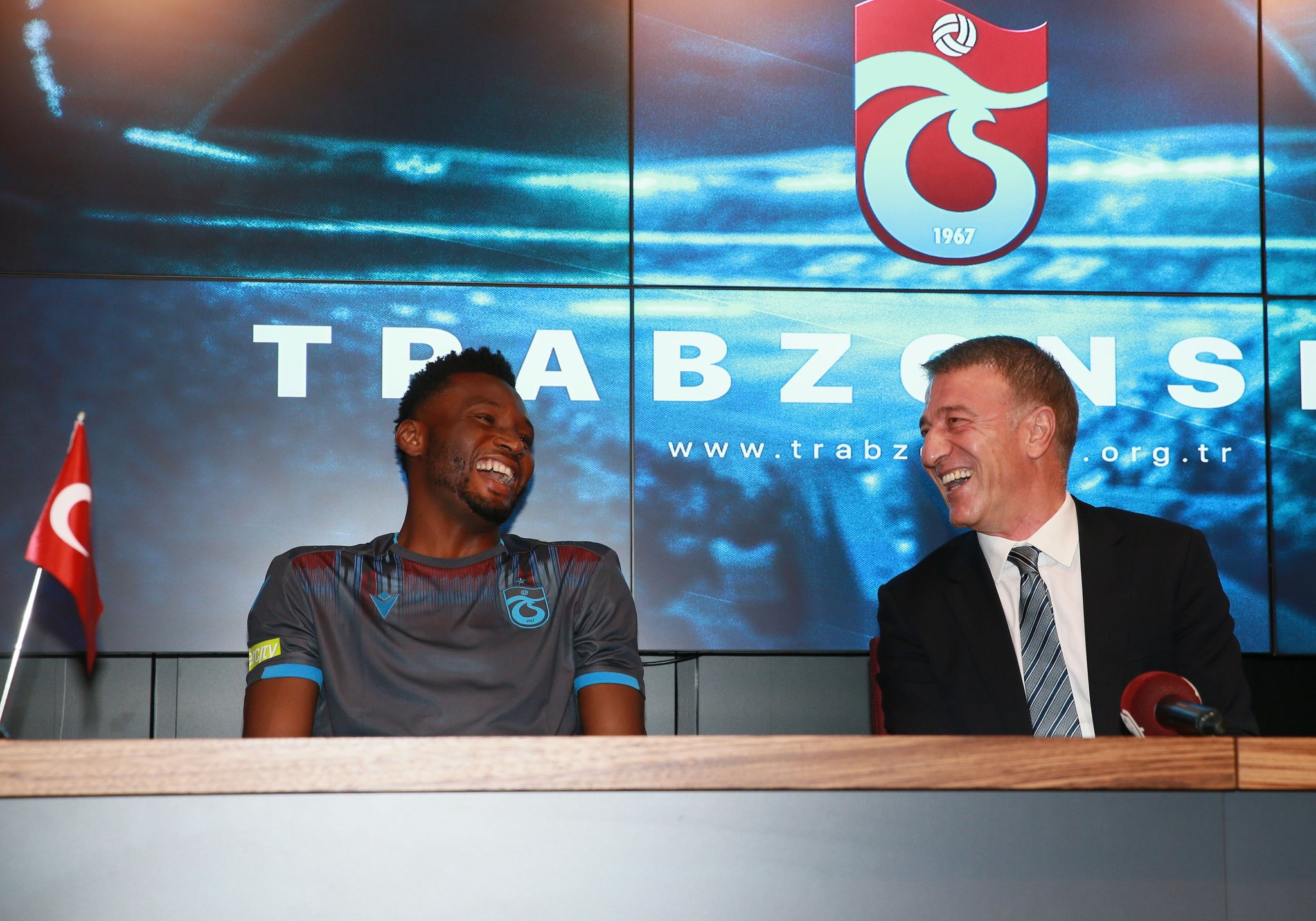 Mikel Vows To Help Trabzonspor Reach New Heights