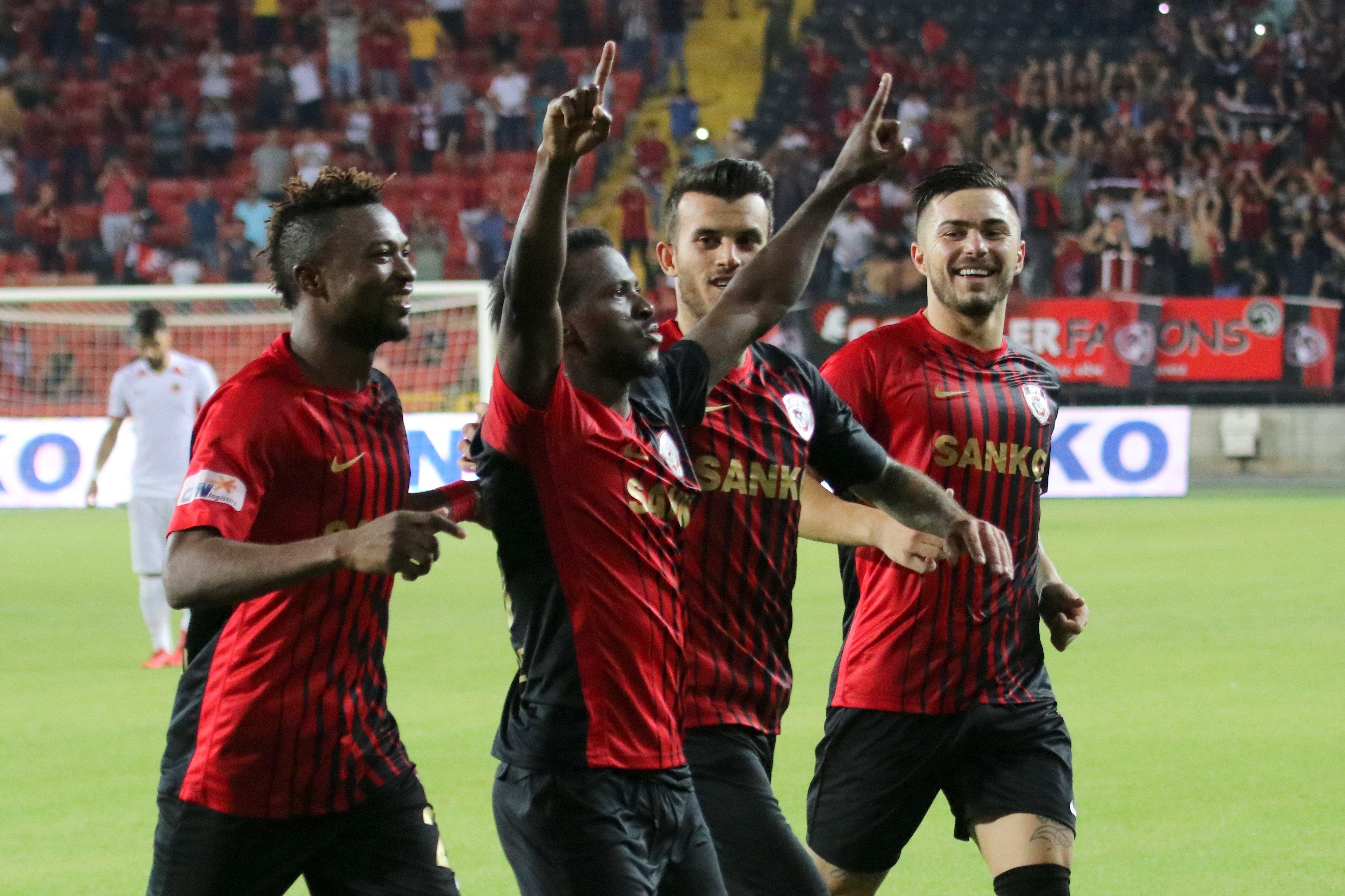 Kayode sets season target with new Turkish club Gazisehir Gaziantep