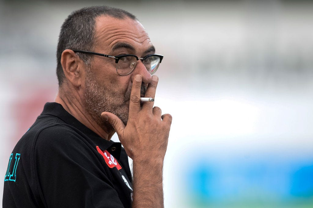 Juventus boss Maurizio Sarri diagnosed with pneumonia
