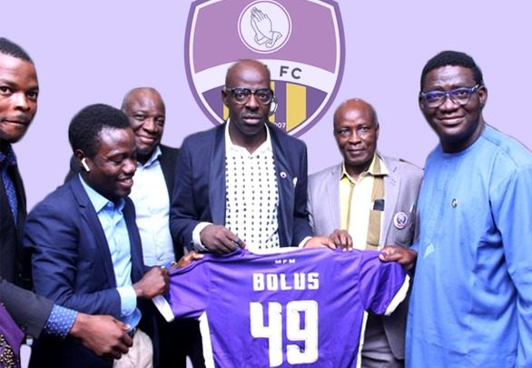MFM FC appoint Tony Bolus as new Manager