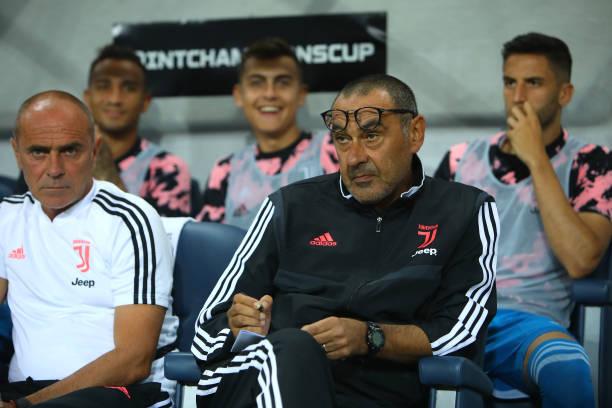 Maurizio Sarri and Juventus players' take pay cut due to coronavirus