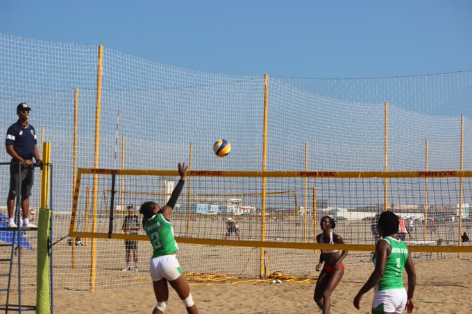 Beach Volleyball: Nigeria teams through to the quarterfinals