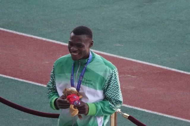African Games: Raymond Ekevwo Wins 100m Men's Gold, As Chukwuebuka Enekwechi Clinches Gold In Shotput