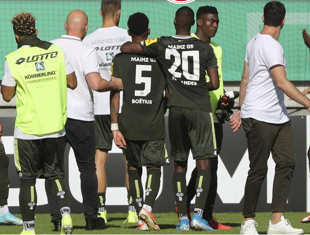 Taiwo Awoniyi suffers set-back in Mainz 05 debut game