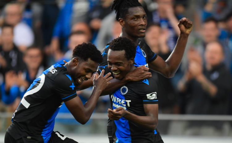 Okereke, Tau light up Friday Night in Belgium with goals in Six nil victory