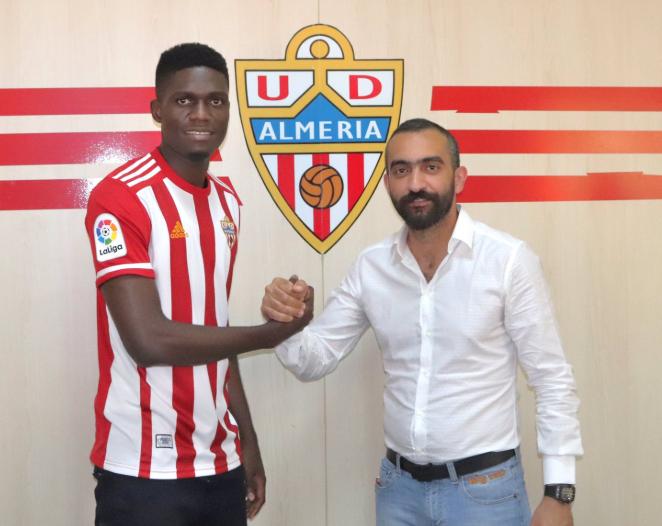 Ozornwafor reveals reason behind UD Almeria Loan move