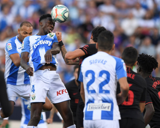 Leganes lose again, Omeruo plays for the first time since permanent move from Chelsea