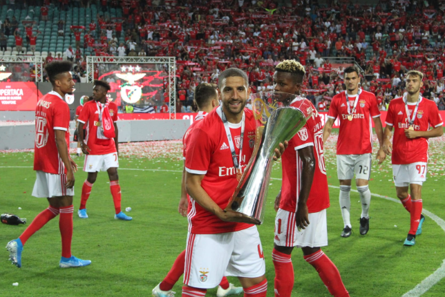 Two Cup titles for Tyronne Ebuehi already with Benfica