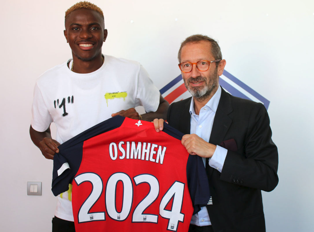 He is a player with great potential! Osimhen's Lille move excites Barcelona Legend