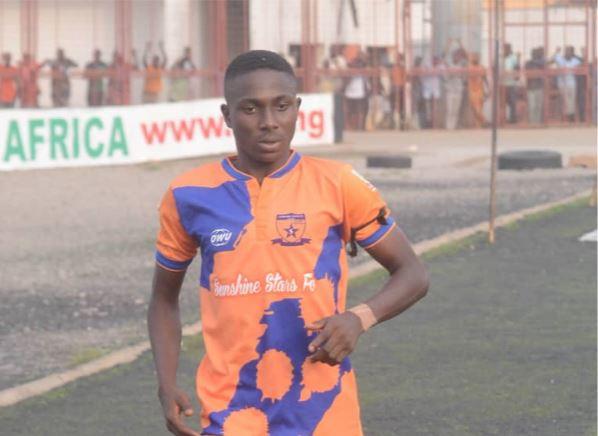 Fourteen year old Sunshine Star Adejubu ready to take NPFL by storm