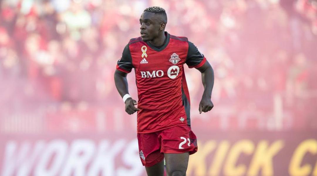 Toronto FC player Mavinga get accident