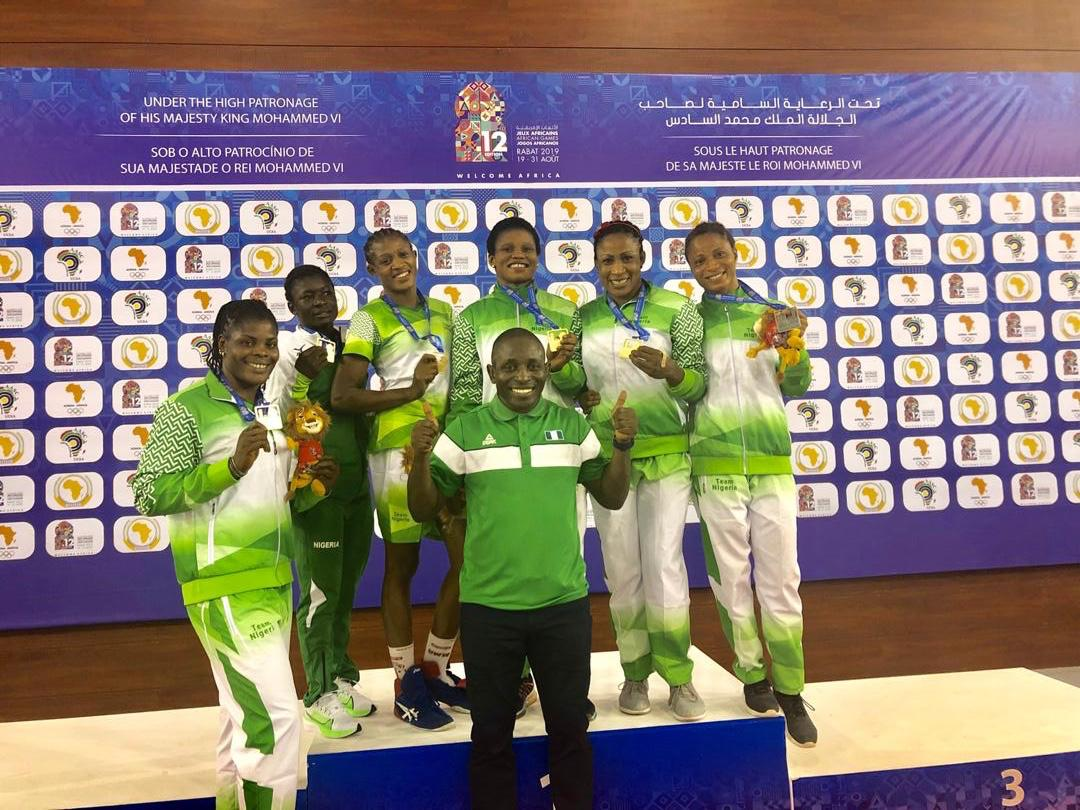 12th African Games: NWF President Igali lauds Wrestling coaches and athletes
