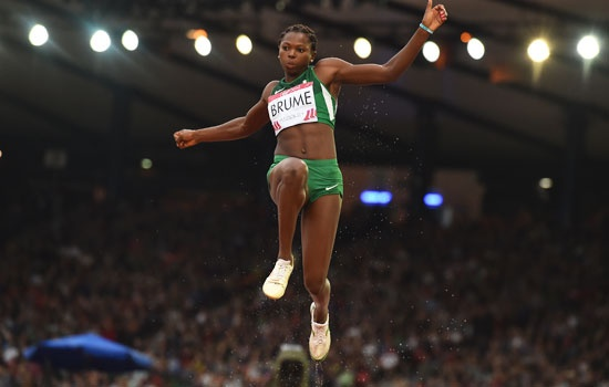 Ese Brume, Chioma Onyekwere Land Gold For Nigeria In Long Jump And Discuss