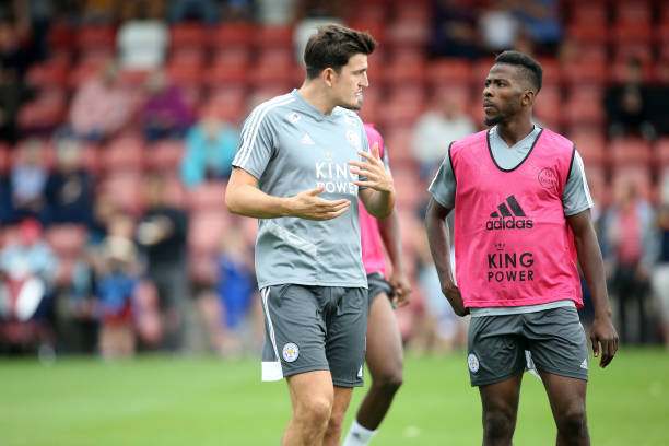 Iheanacho accuses Maguire of moving his slippers before United transfer (Video)