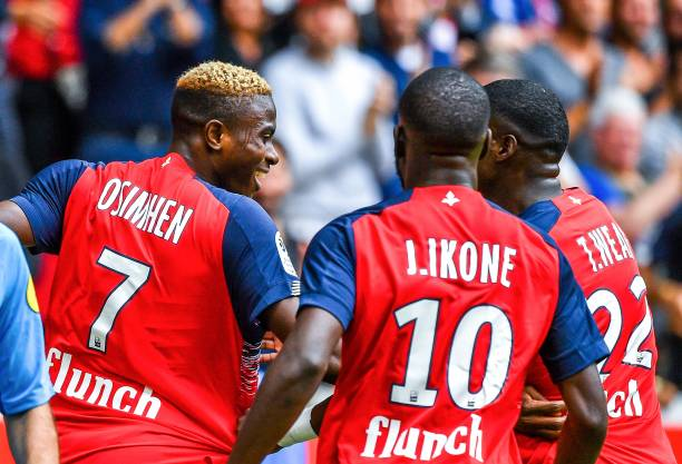 Osimhen scores brace on Lille OSC debut