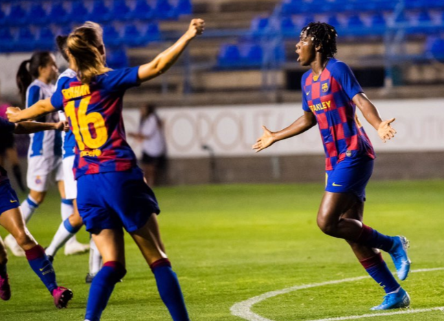 Asisat Oshoala's Cup Final goal will impress even Messi