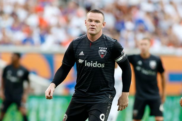 Former United Captain Wayne Rooney signs for Derby County