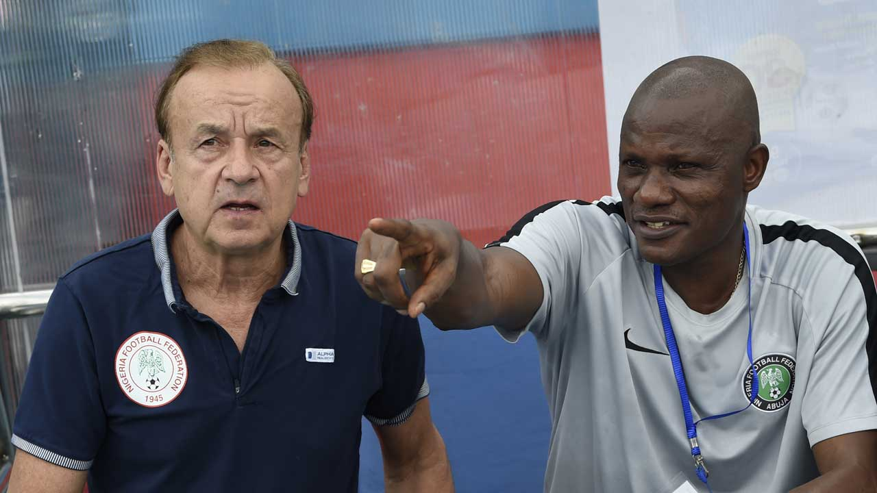 Rohr Reveals Alloy Agu Has Been Working Without A Contract With NFF