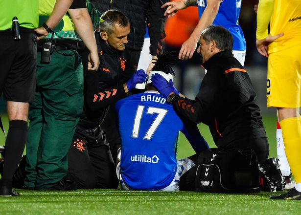 Aribo Doubtful For Brazil Clash, After Receiving 20 Stitches On Injured Head