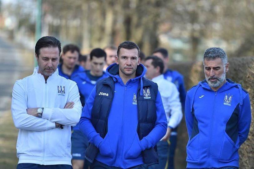 Ukraine National team gather in Kyiv ahead Nigeria friendly