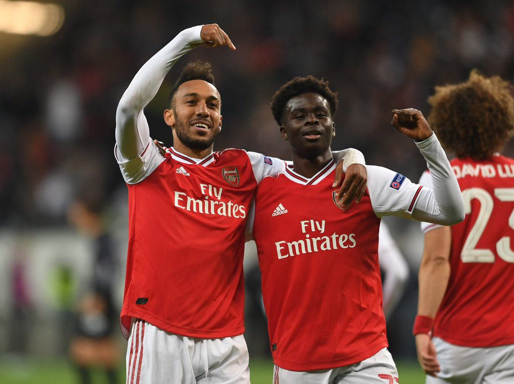 Eintracht Frankfurt vs. Arsenal - Football Match Report