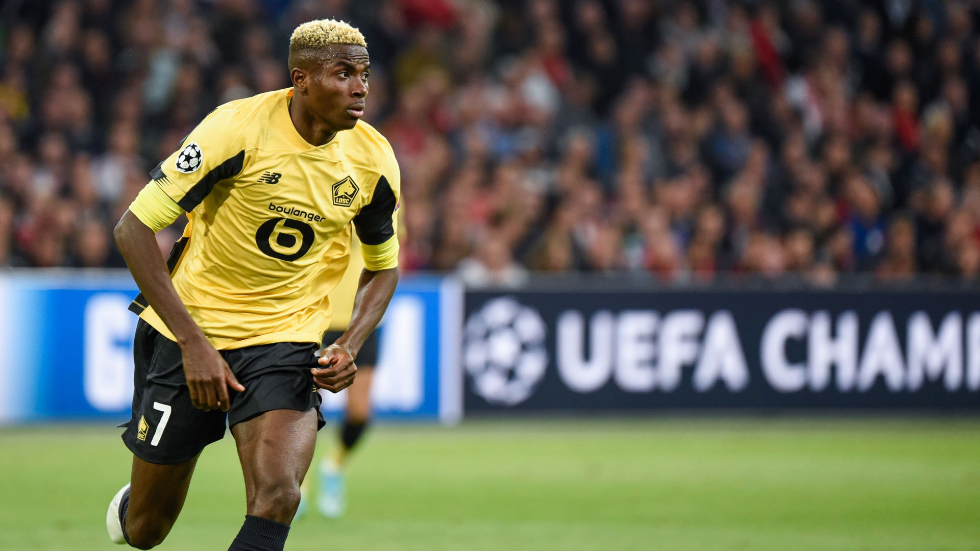 Osimhen Makes Lille History After Scoring Against Strasbourg
