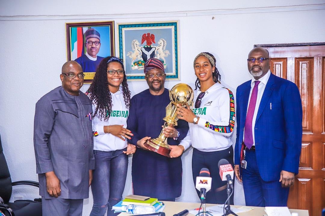 Sports Minister Dare meets NBBF Officials, promises support