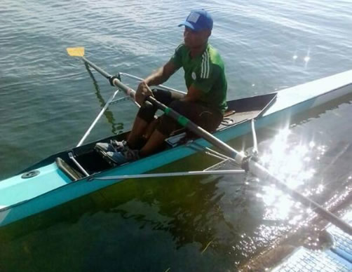 Nigerian Rower seeks first ever 2020 Olympic ticket