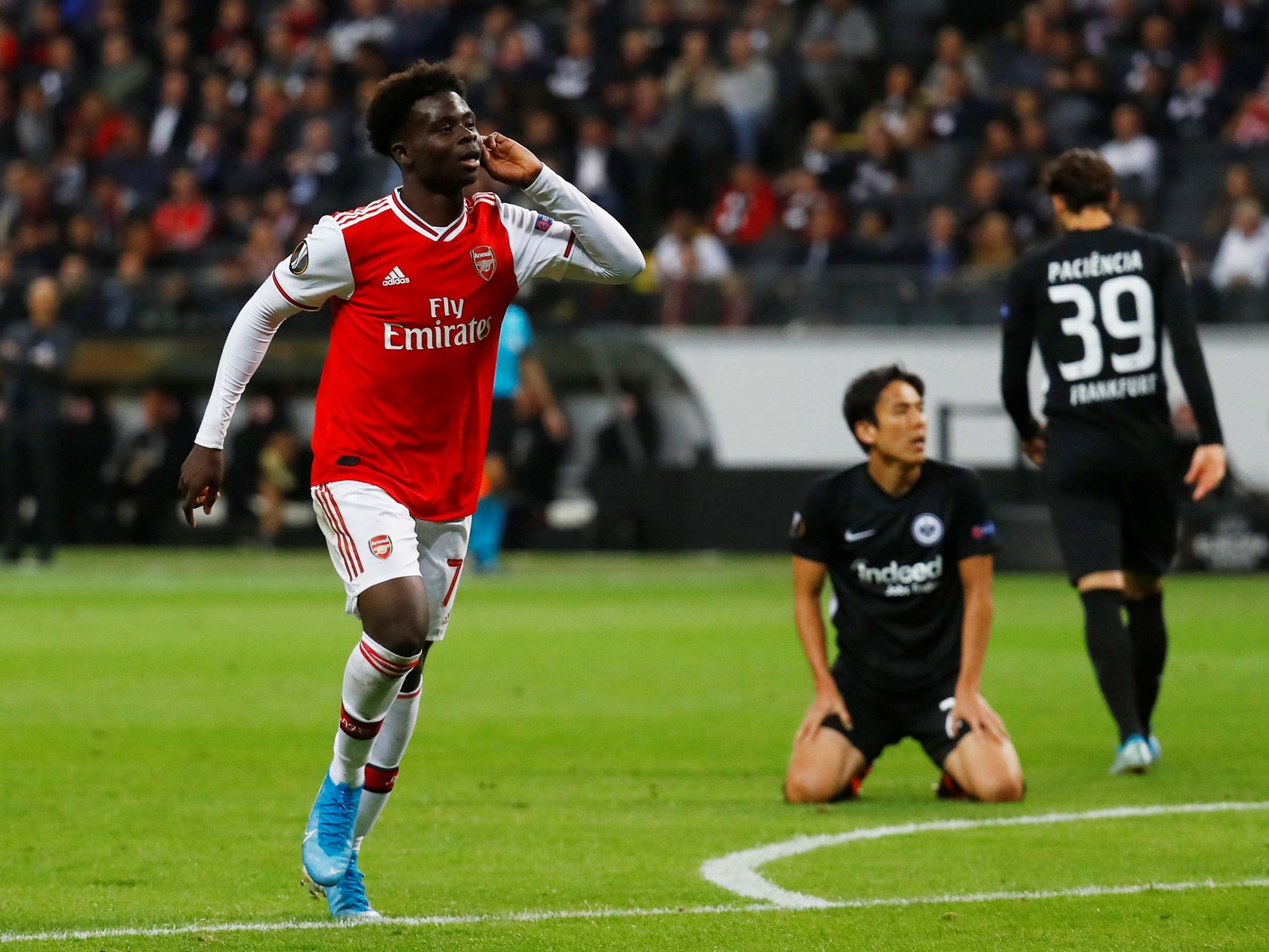 Saka better than Pepe, says Arsenal legend Keown