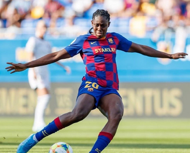 Oshoala And Oghiabekhva To Clash In UEFA Women's Champions League