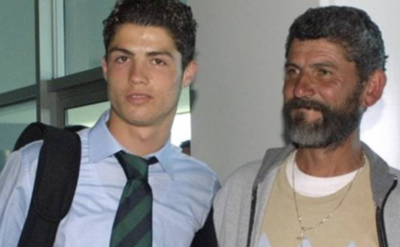 Touching tribute to Cristiano Ronaldo's Father