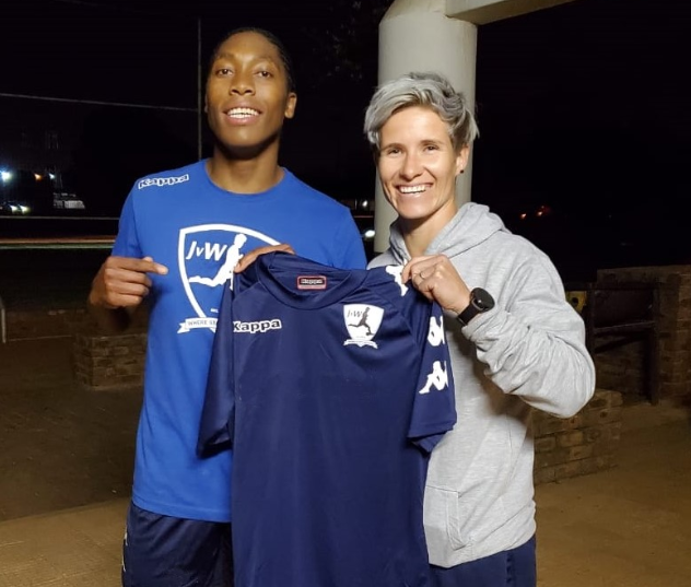 South African league national championship side signs Semenya ahead of new season