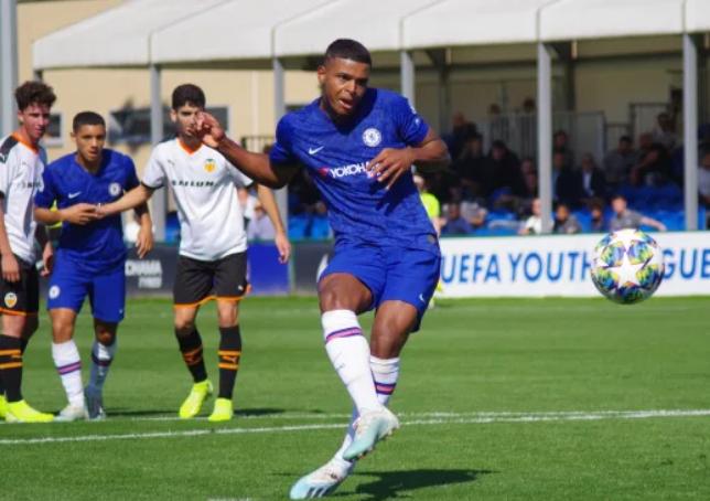 Chelsea Legends watch rising Nigeria star shine in UEFA Youth League match