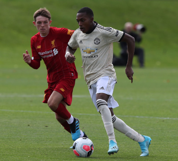 Nigeria-born speedster Sotona helps Man United salvage result against Hertha Berlin