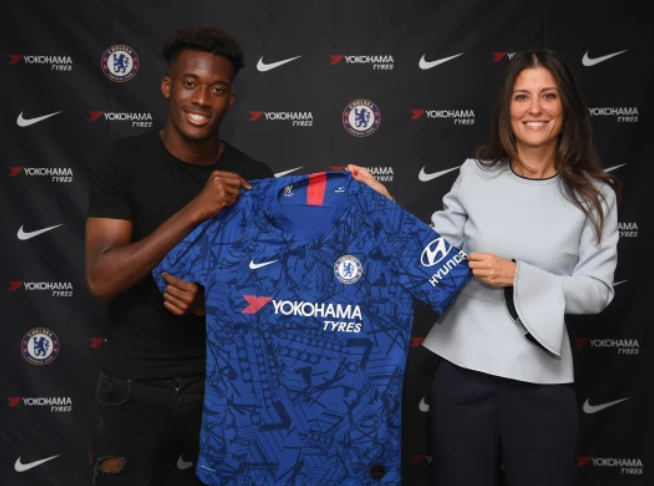 Hudson-Odoi extends Chelsea contract until 2024