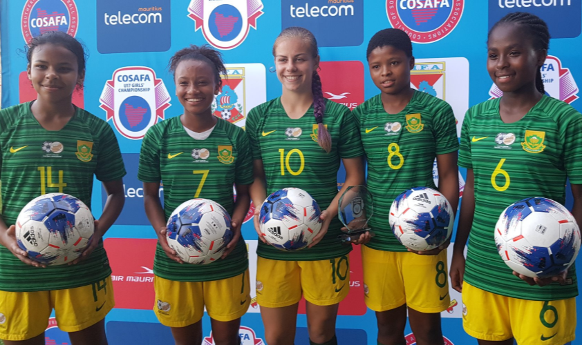 South Africa demolish Seychelles 28-0, Five players score hat-tricks