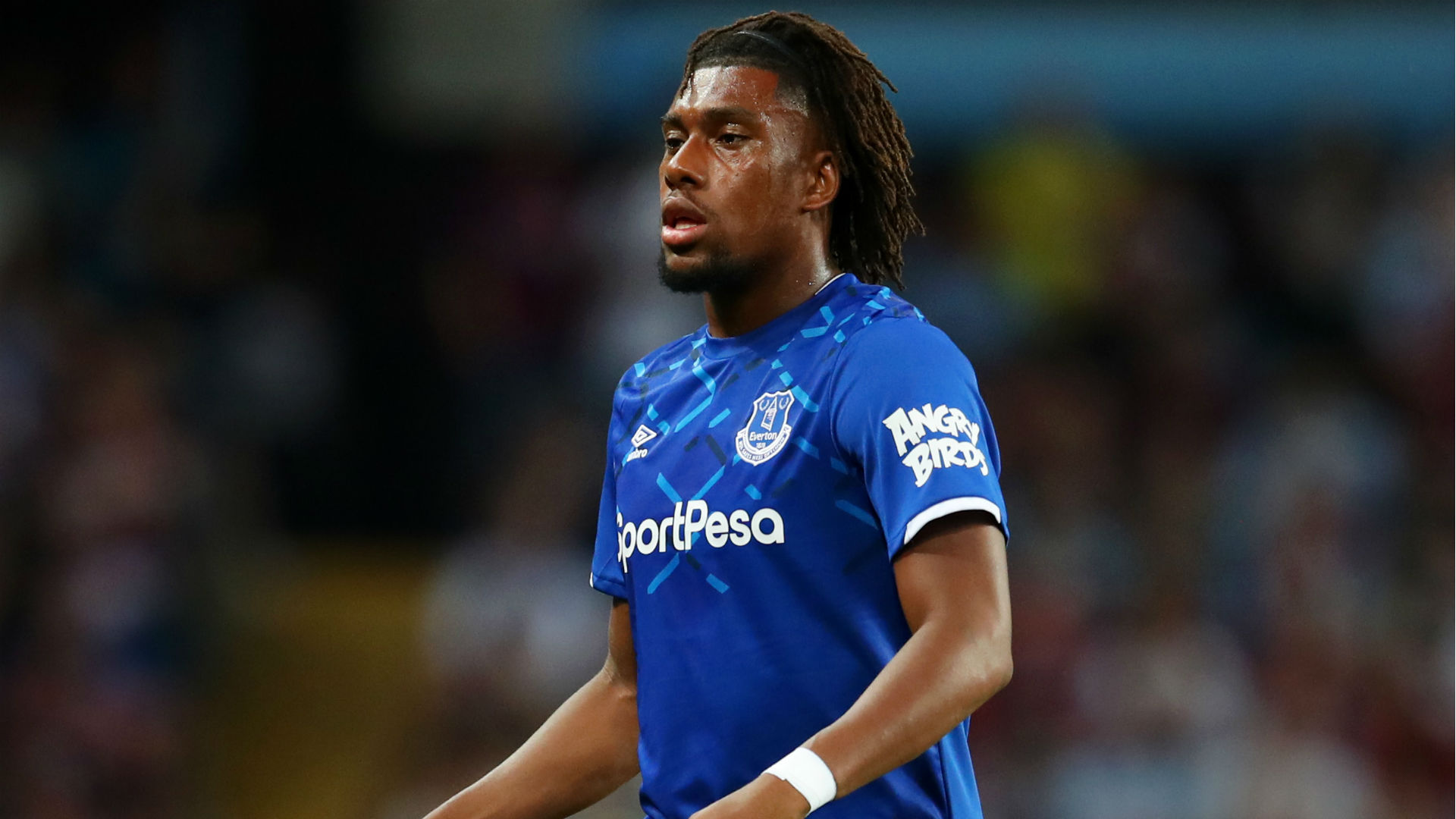 Iwobi set for his first Everton appearance of the season