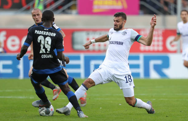 Schalke dims the shine on Collins' fine performance in 5-1 routing