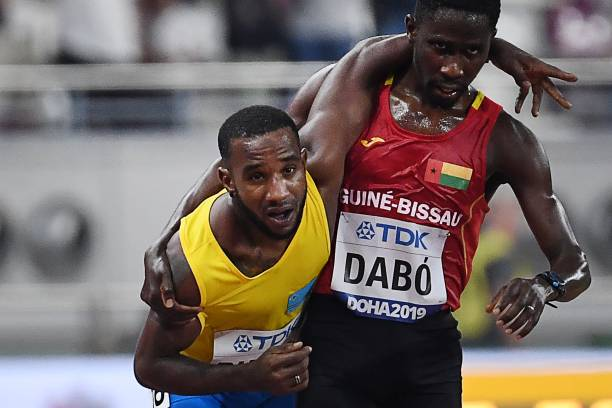 Guinea Bissau Braima Dabo's Sportsmanship in Doha warm hearts World Over