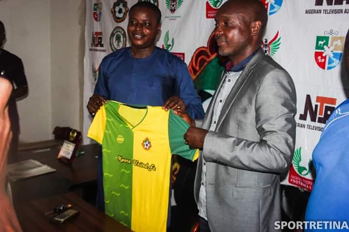 Kwara United unveils New Boss Abdullahi Biffo