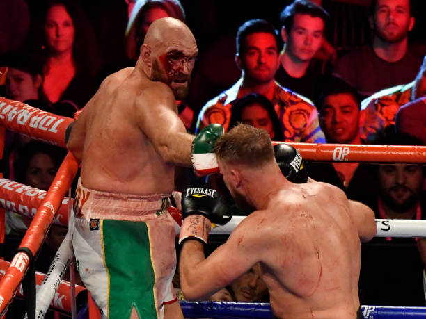 Deep cut, Impaired vision! Fury's father lashes out over Son's lucky escape against Wallin