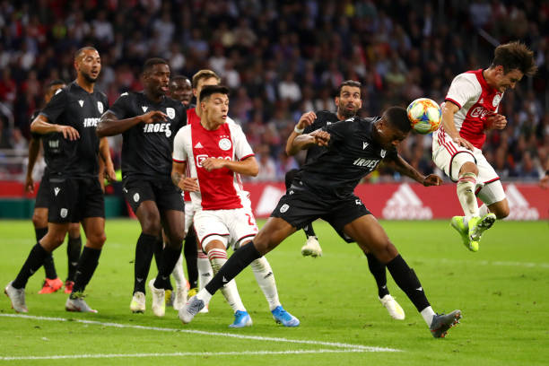 Akpom On Target For Greek Champions PAOK Salonika