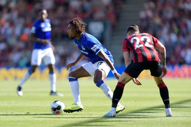Iwobi fails to rescue Everton from defeat at Bournemouth