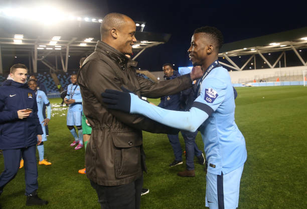 Captain Fantastic! Iheanacho's tribute to Man City Legend Vincent Kompany